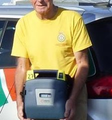 Eastbourne Area Community First Responders has two defibrillators to give the community on Eastbourne Bournefree website