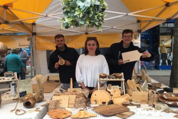 Eastbourne's Young Trader of the Year 2021 is The Healing Timber! on Eastbourne Bournefree website