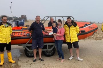 Family of crew member donates £310 to Eastbourne RNLI on Eastbourne Bournefree website