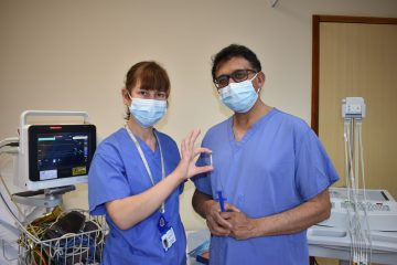 First year anniversary of new pathway for stroke patients at DGH on Eastbourne Bournefree website
