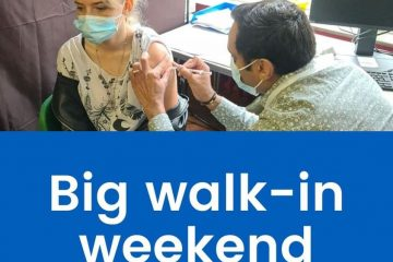 Get your Covid jab on Sunday at Hampden Park surgery - just walk in on Eastbourne Bournefree website
