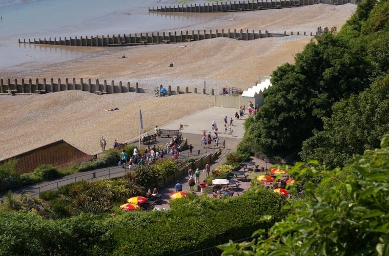 The Sunday Times praises Eastbourne's Holywell Retreat on Eastbourne Bournefree website