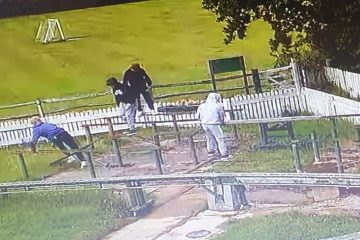 Idiots damage Polegate Miniature Railway - and are caught on CCTV on Eastbourne Bournefree website