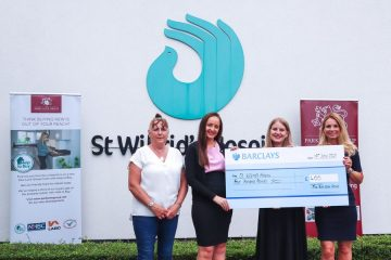 Park Lane Group sponsors a day of care at St Wilfrid's Hospice on Eastbourne Bournefree website