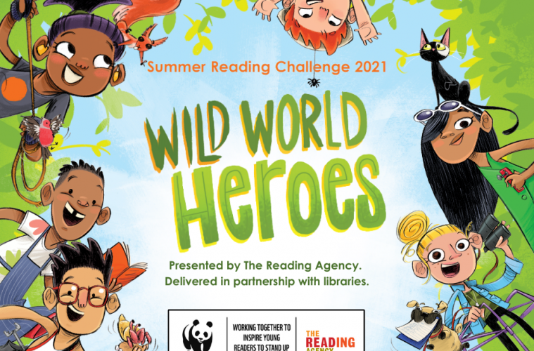 Our children invited to become wild world reading heroes on Eastbourne Bournefree website