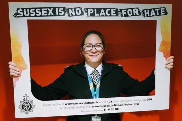 Sussex Police leading the way with Hate Crime Scrutiny Panel on Eastbourne Bournefree website
