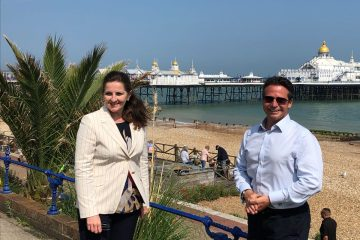 Why Thursday's visit from Tourism Minister Nigel Huddleston MP was important for Eastbourne on Eastbourne Bournefree website