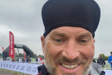 Will's 53-mile challenge today to help Eastbourne charity Chalk Farm on Eastbourne Bournefree website
