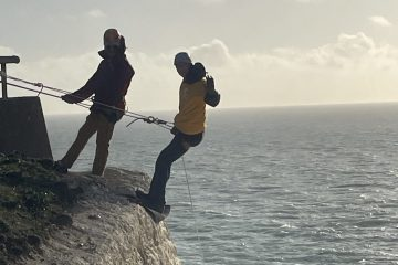 Chestnut Tree House White Cliffs Abseil 2021 on Eastbourne Bournefree website