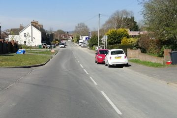 'Horse nearly came smashing into my car' today on Ersham Road on Eastbourne Bournefree website