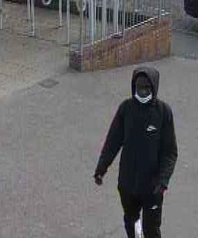 Who is he? Police probe broken bottle attack at Hampden Park railway station on Eastbourne Bournefree website