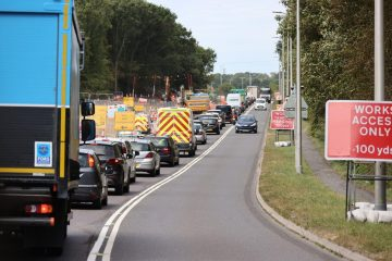 Polegate remains incredibly busy this lunchtime on Eastbourne Bournefree website
