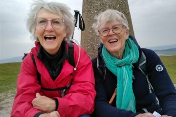 VALERIE AND IRENE TAKE ON 200 MILES TO RAISE FUNDS FOR SUSSEX HOSPICES on Eastbourne Bournefree website