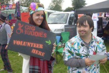 Become a Gig Buddy volunteer on Bournefree Eastbourne website