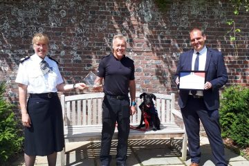 Force recognised for initiatives supporting welfare of police officers and staff on Eastbourne Bournefree website
