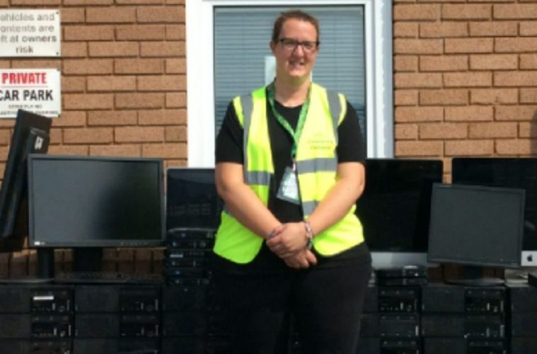 Morrisons Hampden Park collects 207 laptops for children in need on Eastbourne Bournefree website