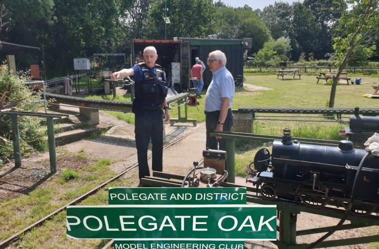 Police visit popular miniature railway club in Polegate after reports of antisocial behaviour on Eastbourne Bournefree website
