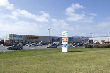 Work starts on transforming Hampden Retail Park on Eastbourne Bournefree website