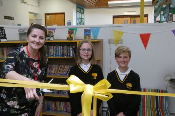 Eastbourne MP Caroline Ansell opens new school library on Eastbourne Bournefree website