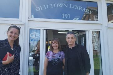 MP talks about 'the joy that is being able to get out and about Eastbourne and Willingdon' on Eastbourne Bournefree website