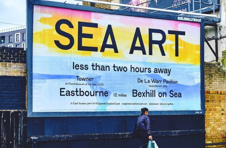 New poster campaign to attract people from London to Eastbourne on Eastbourne Bournefree website
