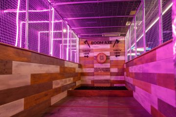 Boom: Battle Bar Eastbourne opens in The Beacon - including axe throwing! on Eastbourne Bournefree website