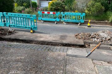 CityFibre is causing 'anguish and turmoil' in Ratton says Colin Belsey on Eastbourne Bournefree website