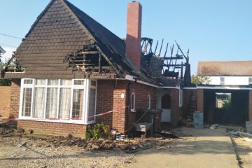 Polegate fire appeal to help Mary on Eastbourne Bournefree website