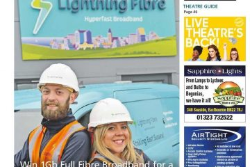 We're really chuffed! Our magazine's getting even more popular on Eastbourne Bournefree website
