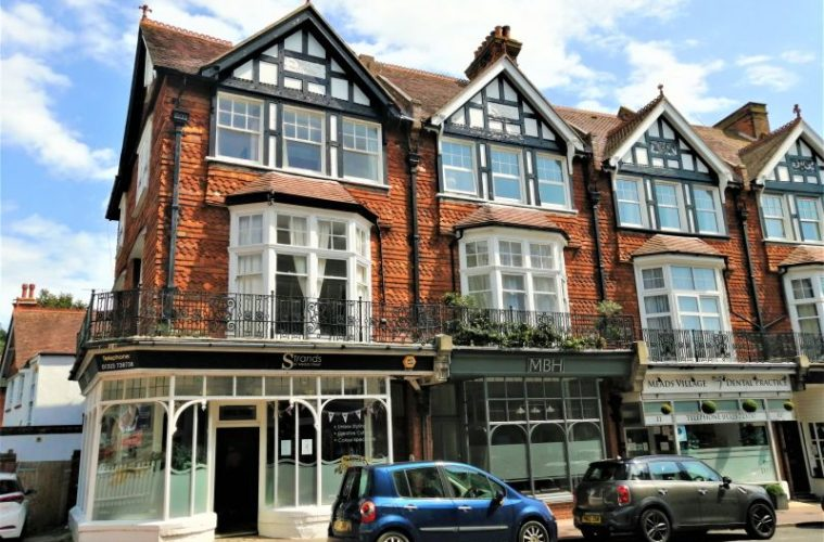 Seven-bedroom HMO in Meads Street - with annual income of £35k- is sold on Eastbourne Bournefree website