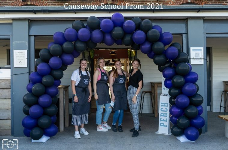 Causeway School cancels Prom due to Covid - but Perch Princes Park hosts it instead on Eastbourne Bournefree website