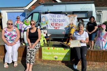 Willingdon Scarecrow Festival and the Polegate Scarecrow Festival come to an end on Eastbourne Bournefree website