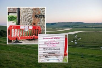 Anger as public toilets shut for over a year in Seven Sisters Country Park