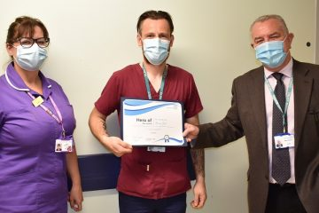 Martin Bell is Hero of the Month, DGH, on Eastbourne Bournefree website