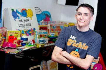 Video: Ben from Eastbourne has the world's biggest Mr Men collection on Eastbourne Bournefree website