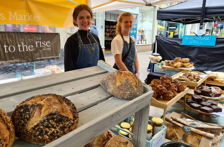 Eastbourne's next Young Traders' Market is today on Eastbourne Bournefree website