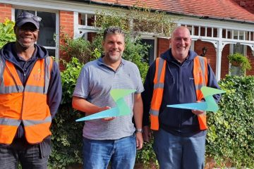 Lightning Fibre celebrates '10,000 homes passed' as network expansion continues on Eastbourne Bournefree website