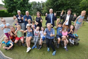 Minister's visit highlights holiday activities support on Eastbourne Bournefree website