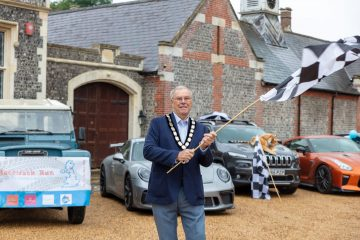 New Wealden chairman supports local charities and pledges to get involved with the community on Eastbourne Bournefree website