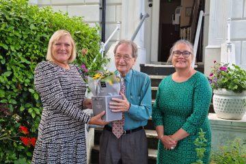 An incredible 50 years as a volunteer Samaritan in Eastbourne on Eastbourne Bournefree website