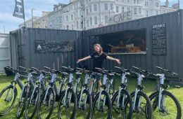 E-bikes to hire - in the heart of Eastbourne on Eastbourne Bournefree website