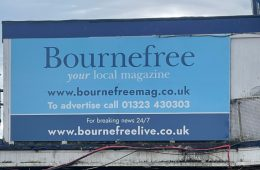 We quite like our new Bournefree board on Eastbourne Bournefree website