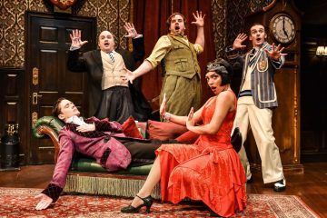 The Play That Goes Wrong gets to Eastbourne, 30 August - 4 Sept 2021 on Eastbourne Bournefree website