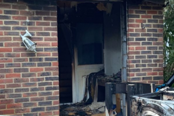 Appeal set up after part of home destroyed in weekend fire on Eastbourne Bournefree website