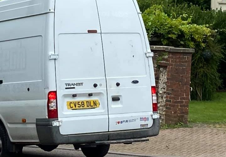'Suspicious' van spotted in Eastbourne yesterday on Eastbourne Bournefree website