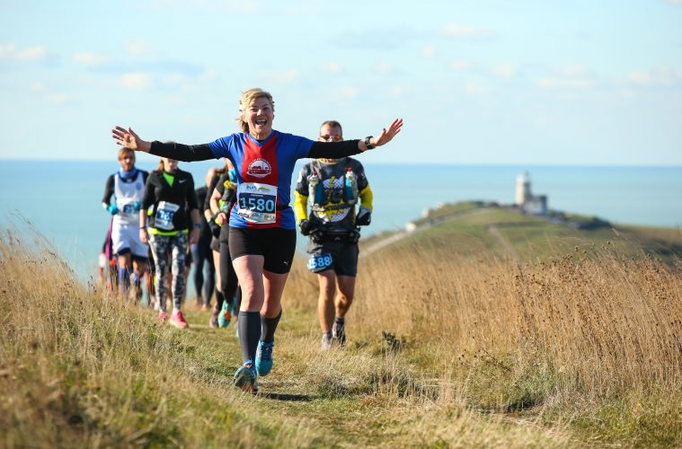 Race is on to Secure Last Remaining Spaces to the Beachy Head Marathon, Half Marathon and 10K on Eastbourne Bournefree website