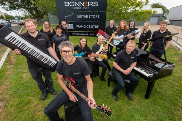 Eastbourne's best music store hits the high notes with new opening, Bonners, on Eastbourne Bournefree website