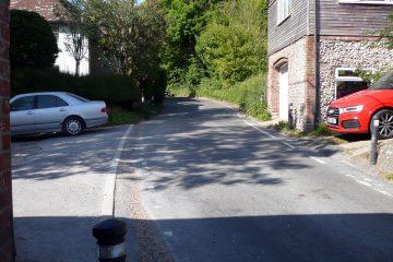 Road hump demanded for East Jevington on the C40 road on Eastbourne Bournefree website