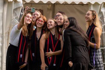 STUDENTS RETURN TO HERSTMONCEUX CASTLE on Eastbourne Bournefree website