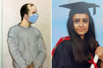 Court sketches of Eastbourne man accused of murdering Sabina Nessa on Eastbourne Bournefree website